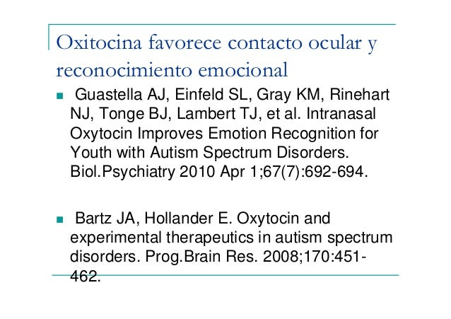 """intranasal oxytocin improves emotion recognition for youth with autism spectrum disorders The article is """"intranasal oxytocin improves emotion recognition for youth with autism spectrum disorders"""" by adam j guastella, stewart l einfeld, kylie m gray, nicole j rinehart, bruce j tonge, timothy j lambert, and ian b hickie."""