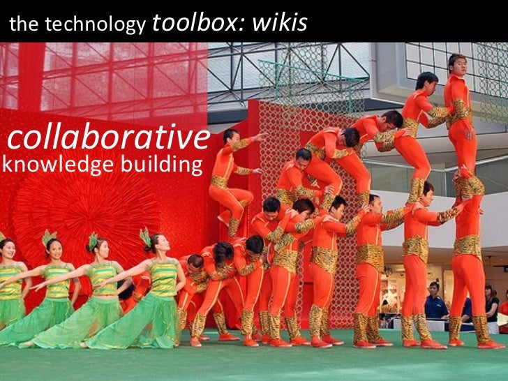 the technology  toolbox: wikis collaborative knowledge building