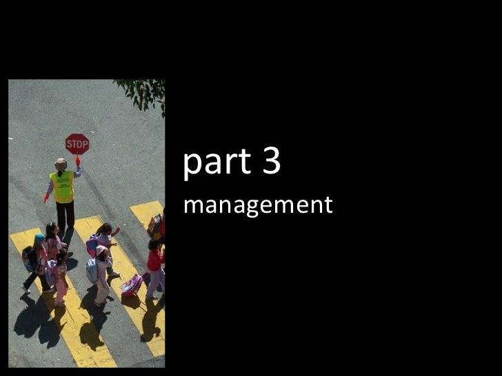 management part 3