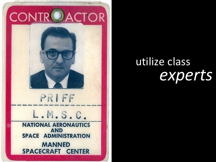 utilize class experts