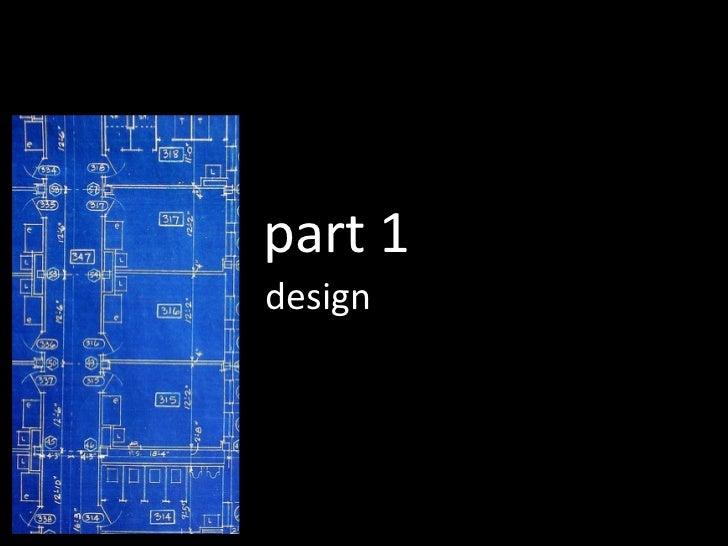 design part 1