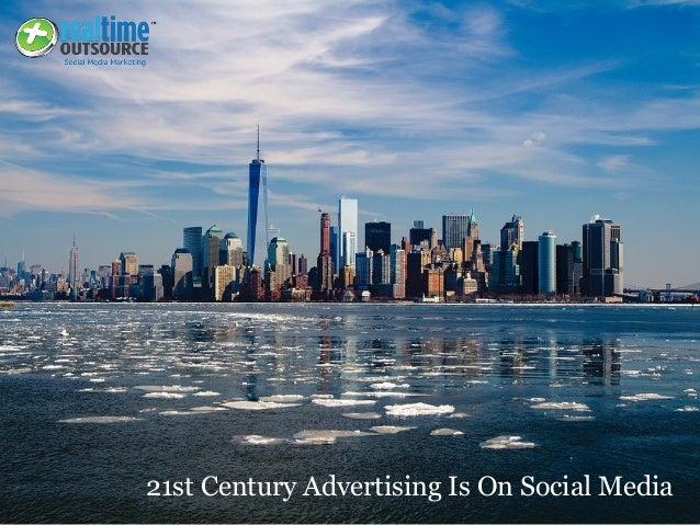21st Century Advertising Is On Social Media