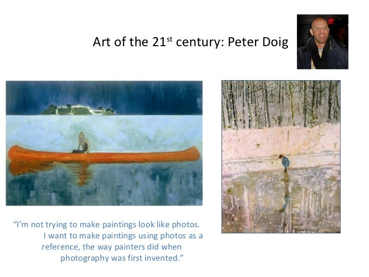 """21st century art indroduction Nearly seven years into the 21st century and there is no one recognized """"art movement"""" for this new age the 20th century saw many attempts at changing the status."""