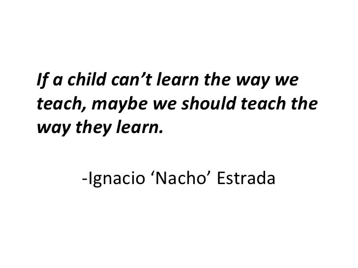 Image result for ignacio estrada if a child can learn