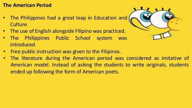 nationalistic period of philippine literature