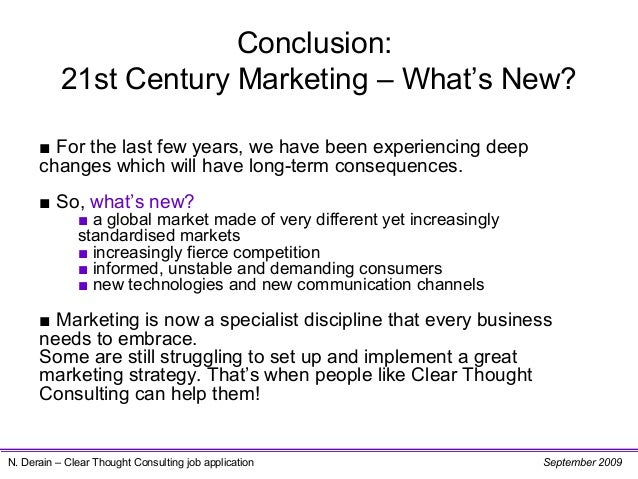 marketing in the 21st century strategic Strategic hrm measurement in the 21st century: from justifying hr to strategic talent leadership abstract measurement will be vital to the evolution of human resource management in the coming century, but in this.