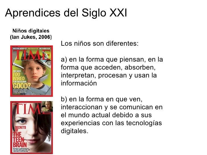 Aprendices del Siglo XXIDispositivos inalámbricos portátiles 1987 - 2011