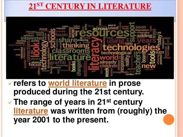21st Century Period In Literature
