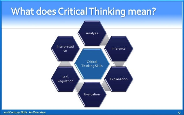 the value of critical thinking skills Critical analytical thinking is a key part of university study many first year students receive comments such as 'not analytical enough' on their early assignments you will find that you develop your critical and analytical skills as you go through university.