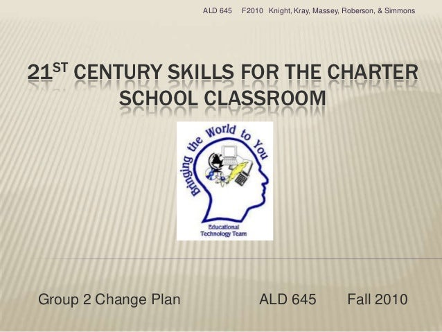 ALD 645   F2010 Knight, Kray, Massey, Roberson, & Simmons21ST CENTURY SKILLS FOR THE CHARTER         SCHOOL CLASSROOMGroup...