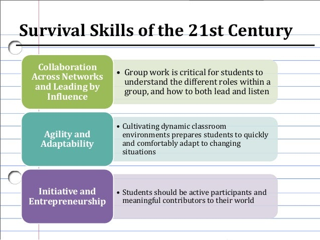 21st century student observation essay Tony wagner of harvard university worked to uncover the 7 survival skills required for the 21st century to accomplish this, hundreds of ceos in business, non-profits and educational institutions were interviewed.