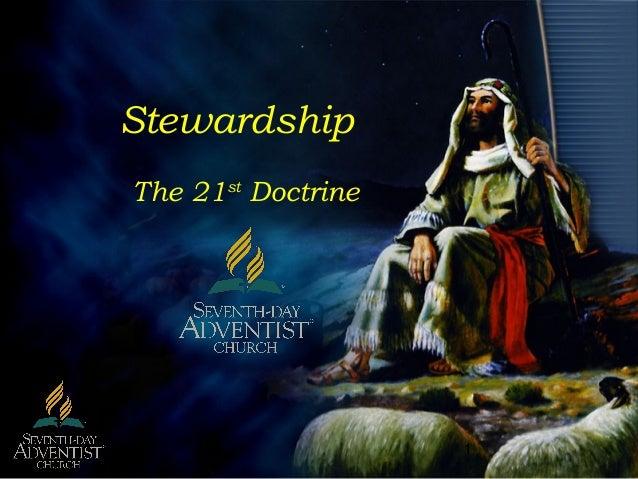 1 Stewardship The 21st Doctrine