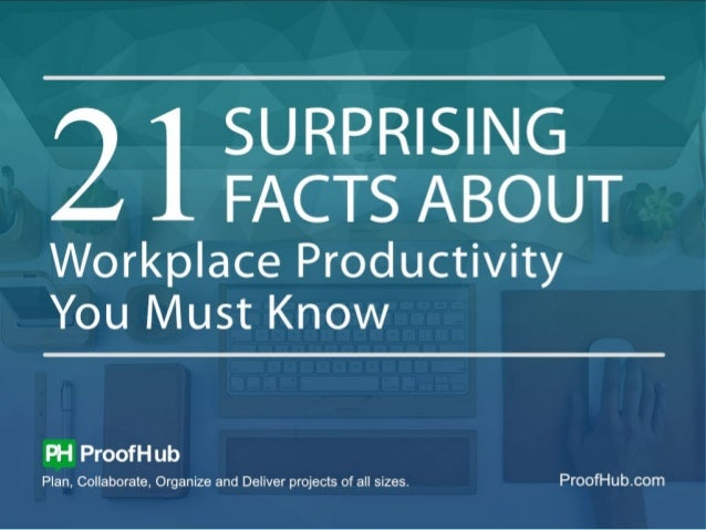 Everyone is looking for ways to be more productive on their job. So we have complied a list of 21 surprising facts about w...