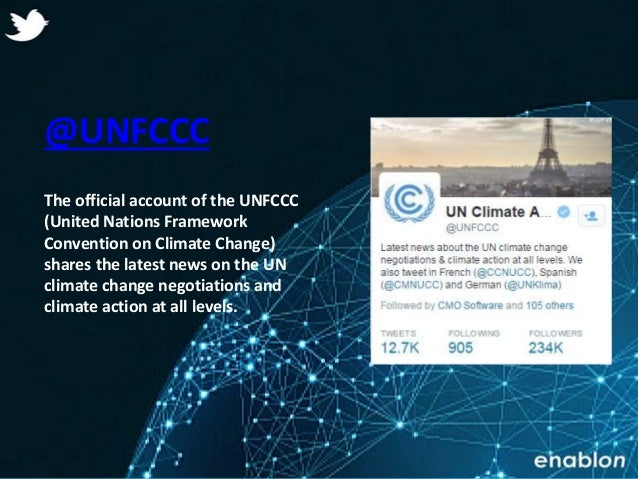 Enablon 2014- ConfidentialEnablon 2014- Confidential @UNFCCC The official account of the UNFCCC (United Nations Framework ...