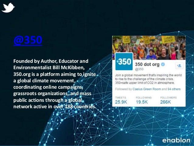 Enablon 2014- ConfidentialEnablon 2014- Confidential @350 Founded by Author, Educator and Environmentalist Bill McKibben, ...