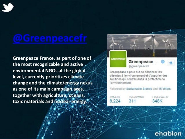 Enablon 2014- ConfidentialEnablon 2014- Confidential @Greenpeacefr Greenpeace France, as part of one of the most recogniza...