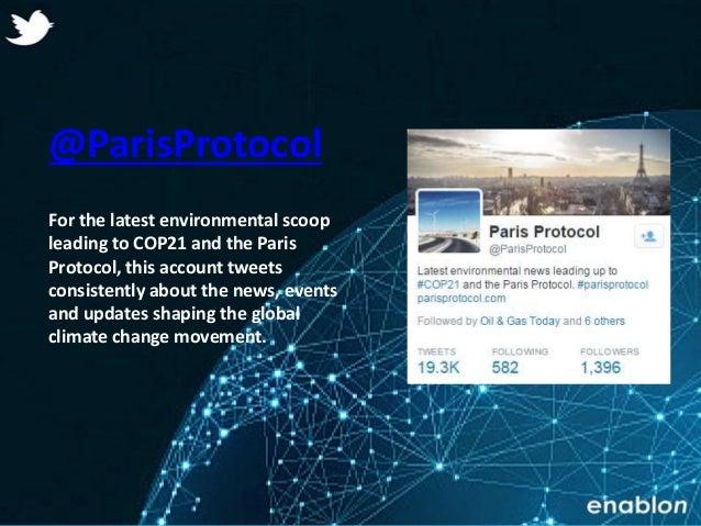 Enablon 2014- ConfidentialEnablon 2014- Confidential @ParisProtocol For the latest environmental scoop leading to COP21 an...