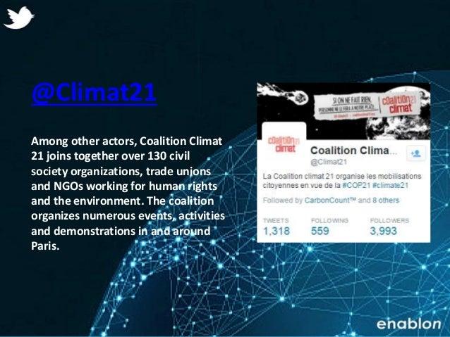 Enablon 2014- ConfidentialEnablon 2014- Confidential @Climat21 Among other actors, Coalition Climat 21 joins together over...