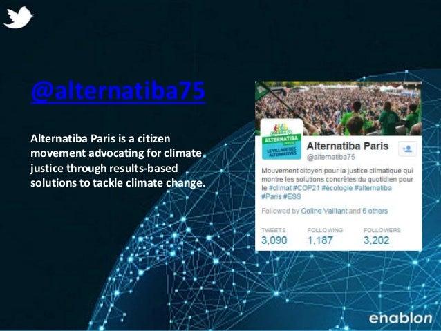Enablon 2014- ConfidentialEnablon 2014- Confidential @alternatiba75 Alternatiba Paris is a citizen movement advocating for...