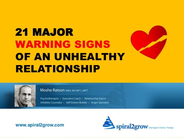 how to avoid unhealthy relationships