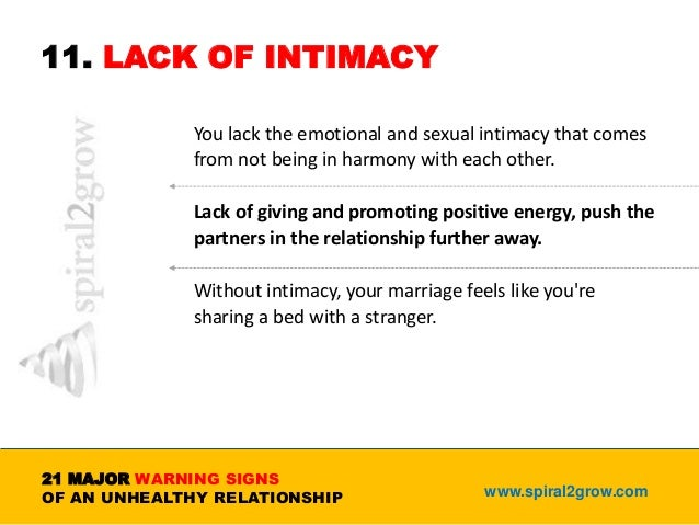 How to create intimacy in a marriage