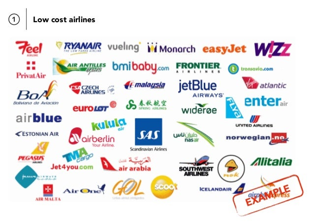 1 Low cost airlines EXAMPLE