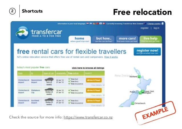 Free relocation Check the source for more info: https://www.transfercar.co.nz Add, Subtract and Differentiate 2 Shortcuts ...