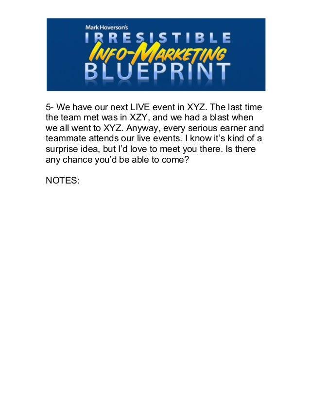 Mark hoverson 21 words secret blue print notes 5 5 we have our next live event malvernweather Images