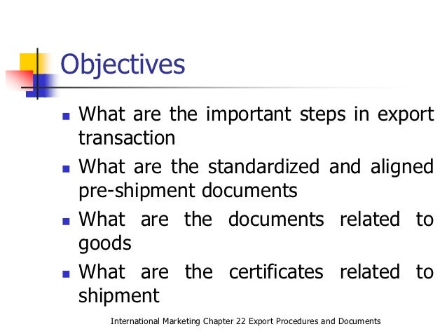 export documentation and procedure Export import procedures and documentation pdf india - free download as pdf file (pdf), text file (txt) or read online for free.