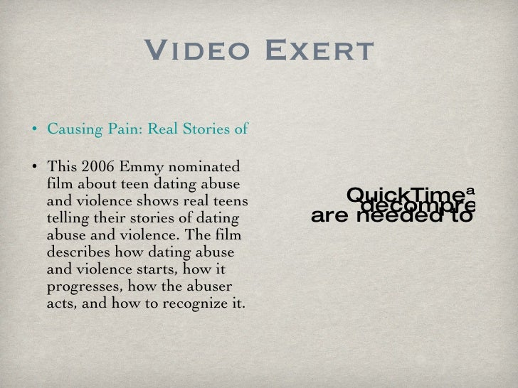 Dating abuse true stories
