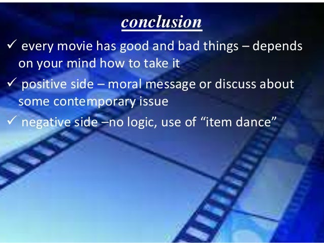bad things about movies
