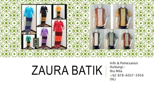 62 878 6037 3056 Xl Pin Bb 57110ae0 Batik Couple Kombinasi Brokat