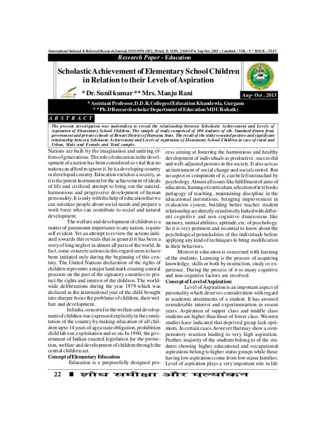 22 International Indexed & Refereed Research Journal, ISSN 0974-2832, (Print), E- ISSN- 2320-5474, Aug-Oct, 2013 ( Combind...