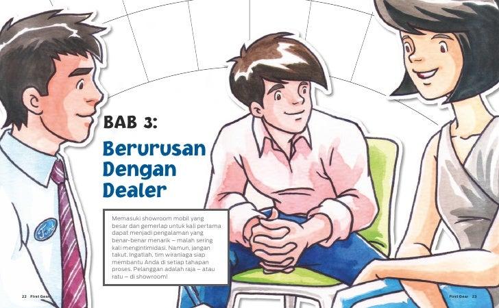 BAB 3:                 Berurusan                 Dengan                 Dealer                 Memasuki showroom mobil yan...