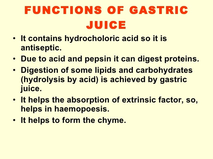 what is a digestive juice