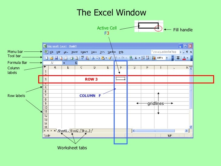 Labels Excel Worksheet : Excel basics