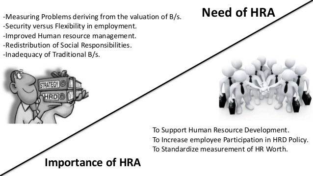 importance of human resource accounting Human resource accounting: meaning, definition, objectives and limitations meaning: human resources are considered as important assets and are different from the physical assets.