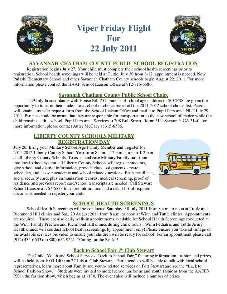 Viper Friday Flight                                          For                                      22 July 2011        ...
