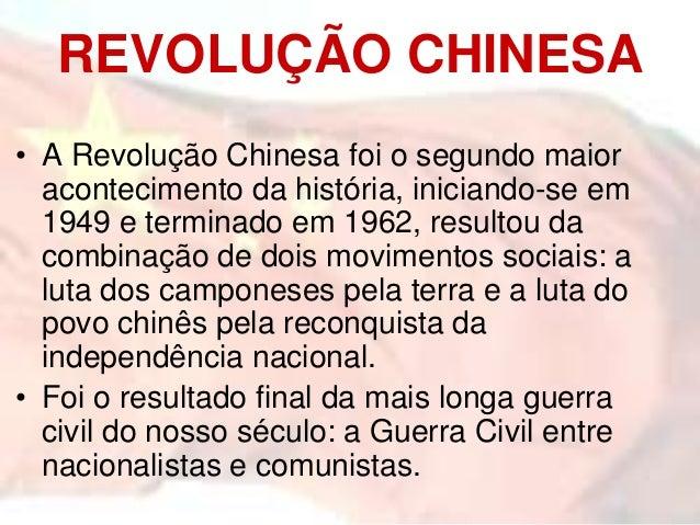 Revolucão Chinesa Slide 2
