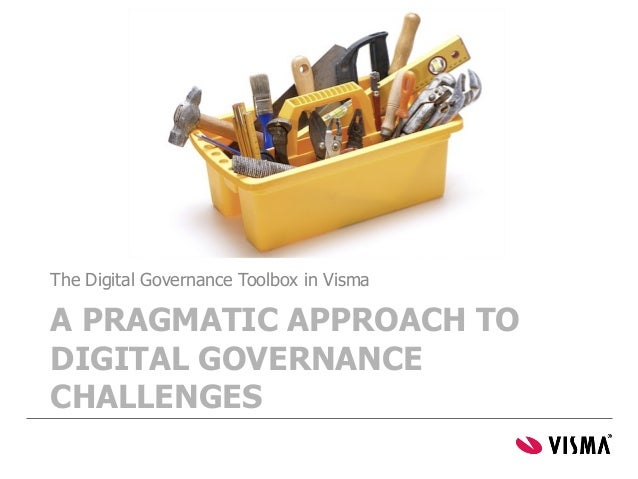 The Digital Governance Toolbox in Visma  A PRAGMATIC APPROACH TO DIGITAL GOVERNANCE CHALLENGES