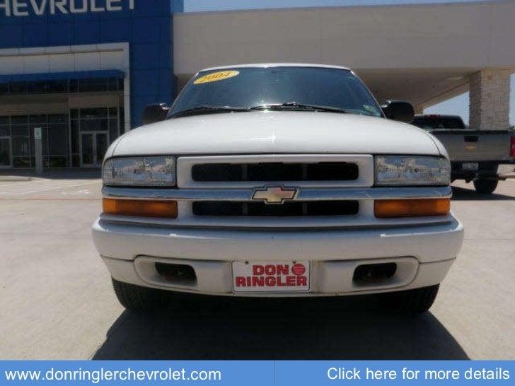Used Chevrolet Blazer LS Don Ringler Austin Chevrolet Dealer - Chevrolet dealerships in austin