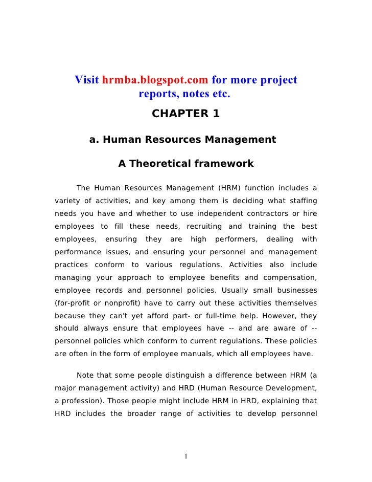 Visit hrmba.blogspot.com for more project                 reports, notes etc.                          CHAPTER 1         a...