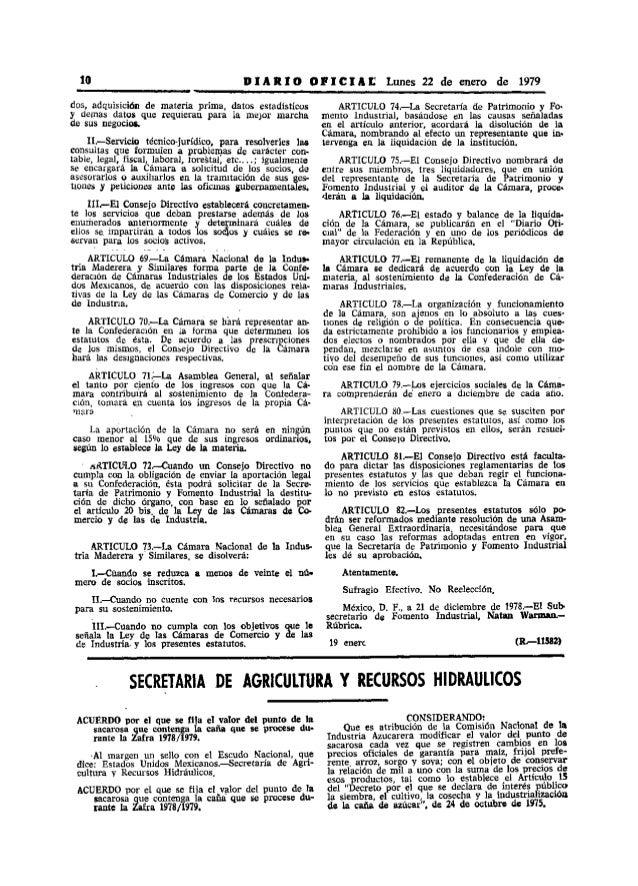 10                                         D 1 A R 1 O O PIe 1 A r; Lunes 22 de enero de 1979dos, adquisición de materia p...