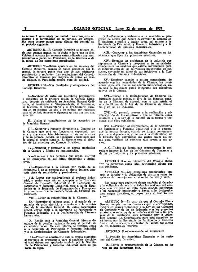 I                                   ,DIARIO OFICIAr:                   Lunes 22 de enero de 1979     se renovará anualment...