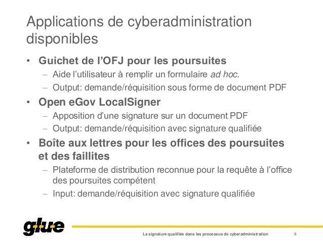 Applications de cyberadministration disponibles • Guichet de l'OFJ pour les poursuites  Aide l'utilisateur à remplir un f...