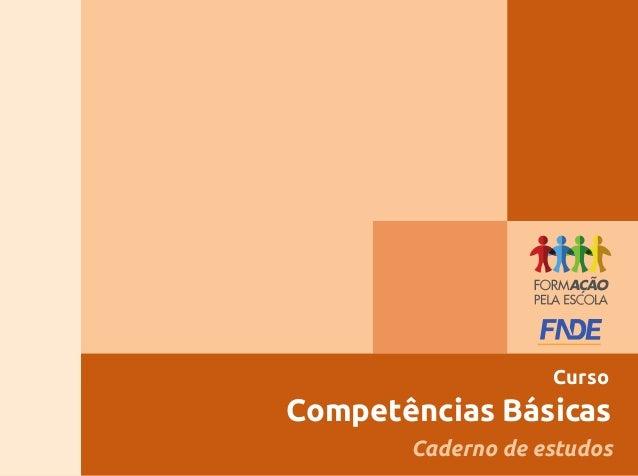 Competências BásicasCursoCaderno de estudos