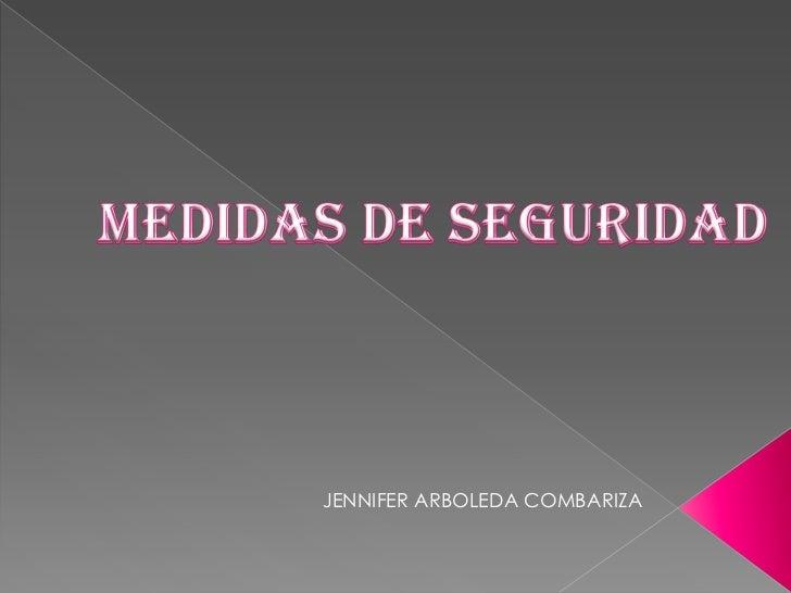 JENNIFER ARBOLEDA COMBARIZA