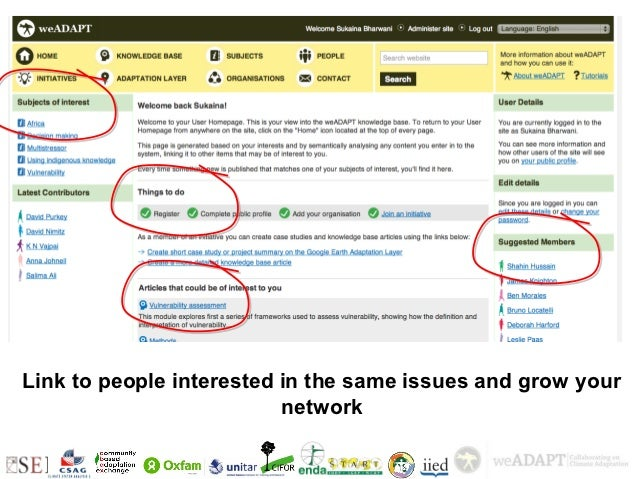 +Link to people interested in the same issues and grow your                          network