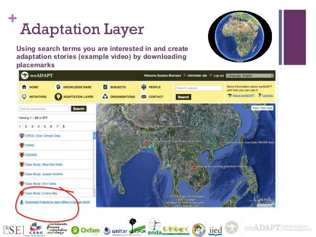 +    Adaptation LayerUsing search terms you are interested in and createadaptation stories (example video) by downloadingp...