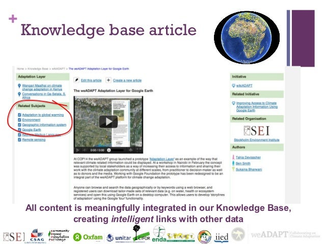 +    Knowledge base article    All content is meaningfully integrated in our Knowledge Base,               creating intell...